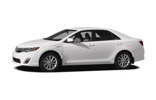 3/4 Front Glamour 2012 Toyota Camry Hybrid