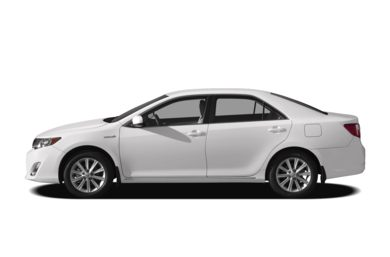90 Degree Profile 2012 Toyota Camry Hybrid