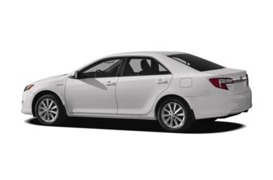 Surround 3/4 Rear - Drivers Side  2012 Toyota Camry Hybrid
