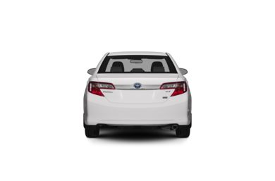 Surround Rear Profile 2012 Toyota Camry Hybrid