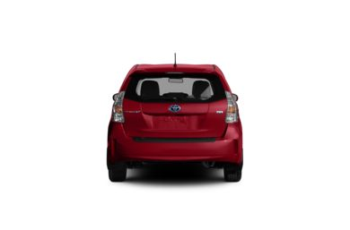 Surround Rear Profile 2012 Toyota Prius v