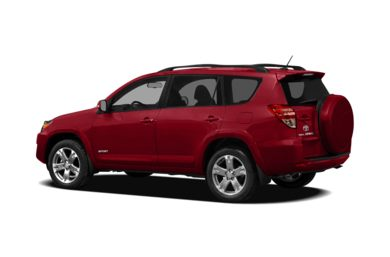 Surround 3/4 Rear - Drivers Side  2012 Toyota RAV4