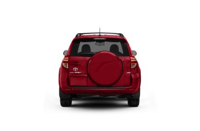 Surround Rear Profile 2012 Toyota RAV4