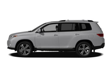 90 Degree Profile 2012 Toyota Highlander