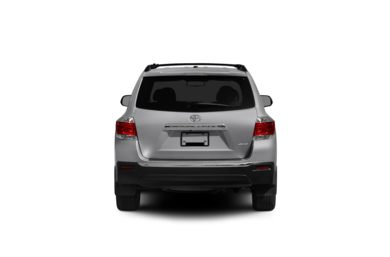 Surround Rear Profile 2012 Toyota Highlander
