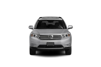 Surround Front Profile  2012 Toyota Highlander