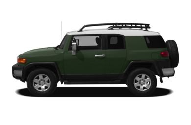 90 Degree Profile 2012 Toyota FJ Cruiser