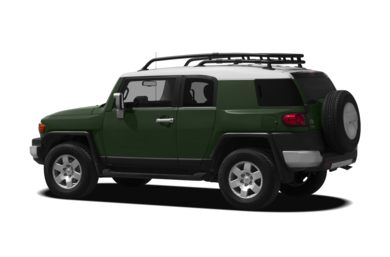 Surround 3/4 Rear - Drivers Side  2012 Toyota FJ Cruiser