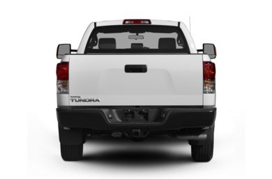 Rear Profile  2012 Toyota Tundra