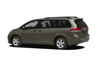 Surround 3/4 Rear - Drivers Side  2012 Toyota Sienna