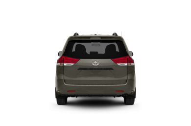 Surround Rear Profile 2012 Toyota Sienna