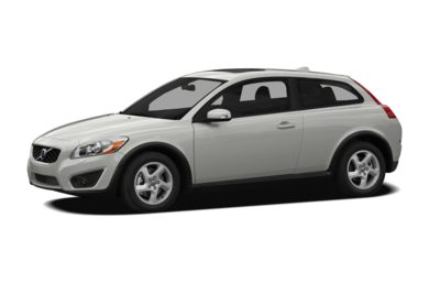 3/4 Front Glamour 2012 Volvo C30