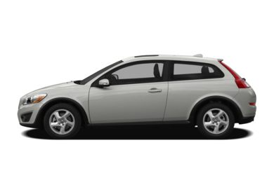 90 Degree Profile 2012 Volvo C30
