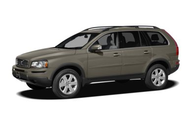3/4 Front Glamour 2012 Volvo XC90