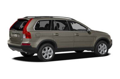 3/4 Rear Glamour  2012 Volvo XC90