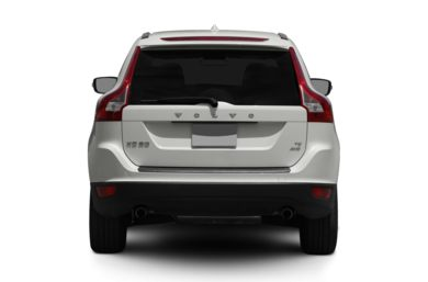 Rear Profile  2012 Volvo XC60
