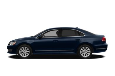 90 Degree Profile 2012 Volkswagen Passat