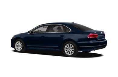 Surround 3/4 Rear - Drivers Side  2012 Volkswagen Passat