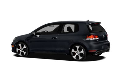 Surround 3/4 Rear - Drivers Side  2012 Volkswagen GTI