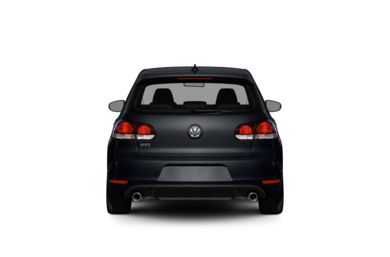 Surround Rear Profile 2012 Volkswagen GTI