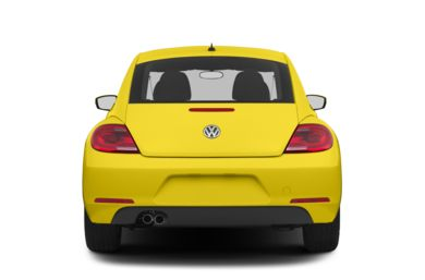 Rear Profile  2012 Volkswagen Beetle