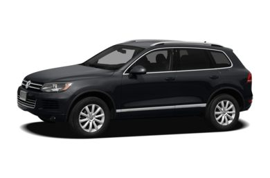 3/4 Front Glamour 2012 Volkswagen Touareg