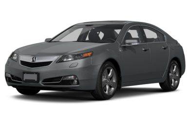 3/4 Front Glamour 2013 Acura TL