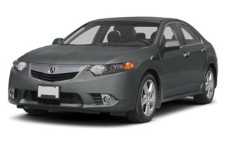 3/4 Front Glamour 2013 Acura TSX