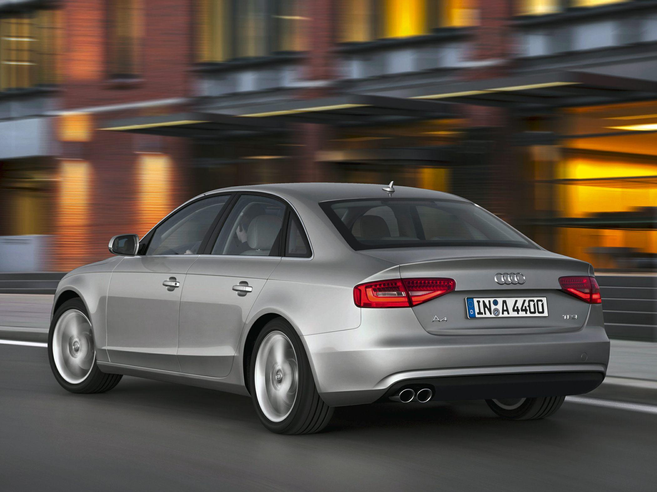 2015 Audi A4 Rear