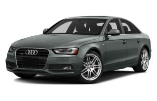 3/4 Front Glamour 2013 Audi A4