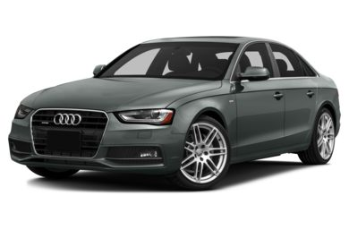 3/4 Front Glamour 2014 Audi A4