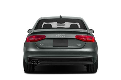 Rear Profile  2013 Audi A4