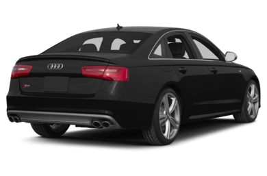 3/4 Rear Glamour  2013 Audi S6