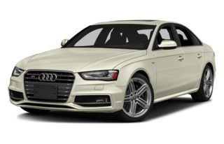 3/4 Front Glamour 2013 Audi S4