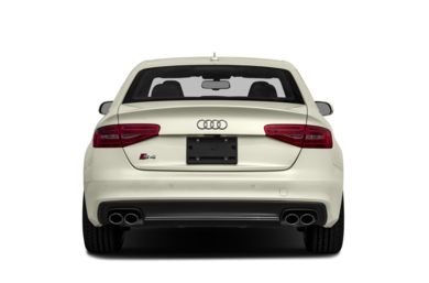 Rear Profile  2013 Audi S4