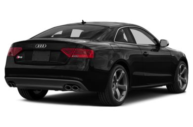 3/4 Rear Glamour  2015 Audi S5