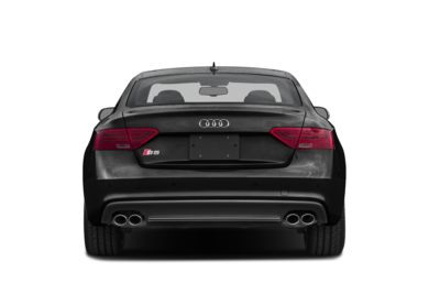 Rear Profile  2015 Audi S5