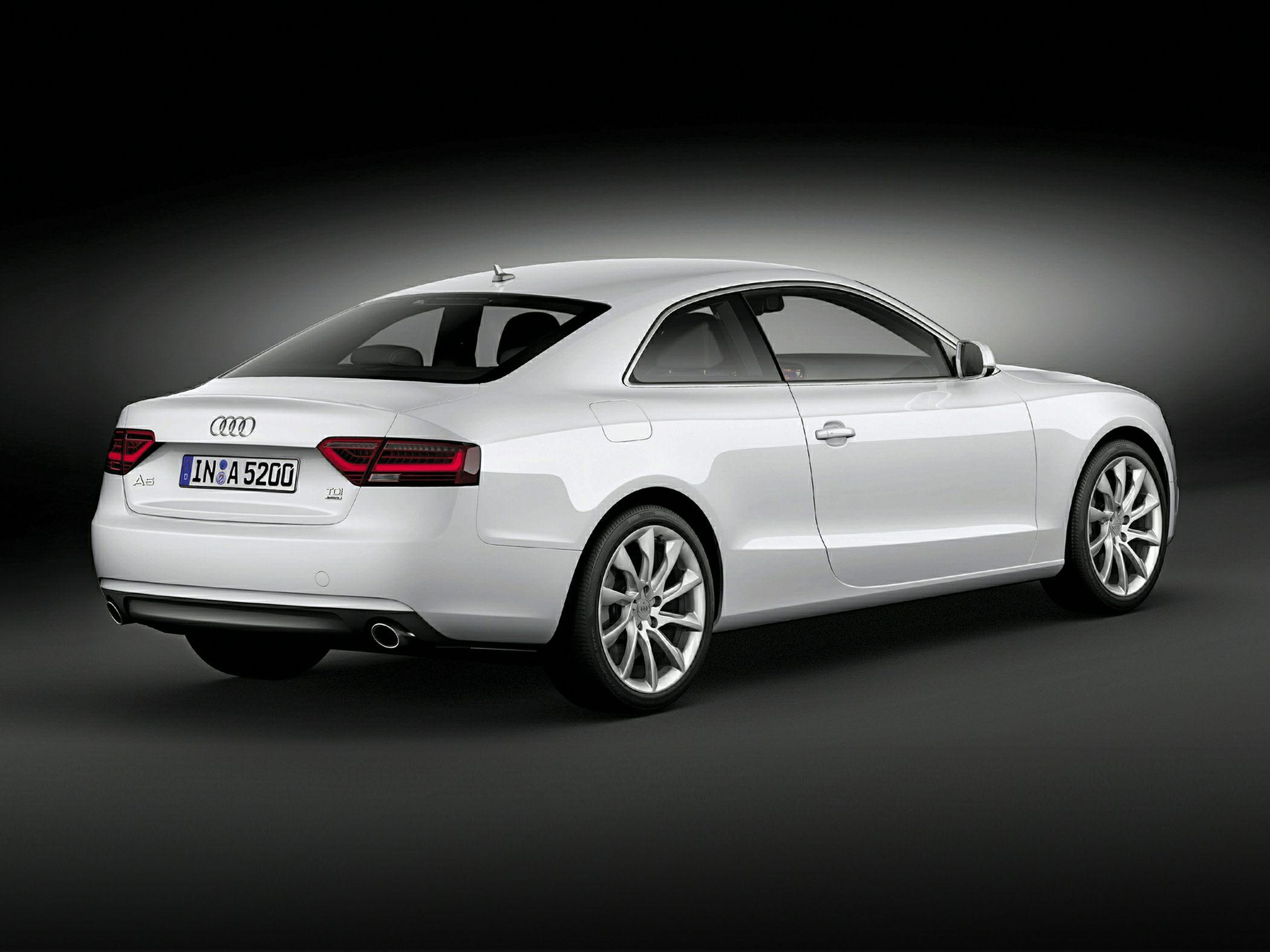 2015 Audi A5 Rear