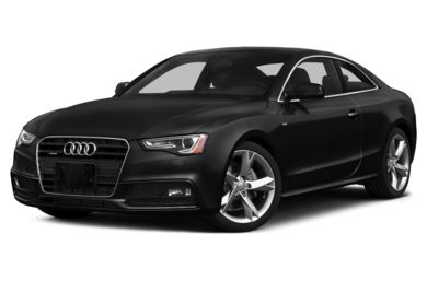 3/4 Front Glamour 2014 Audi A5