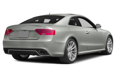 3/4 Rear Glamour  2013 Audi RS 5