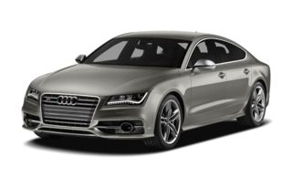 3/4 Front Glamour 2013 Audi S7