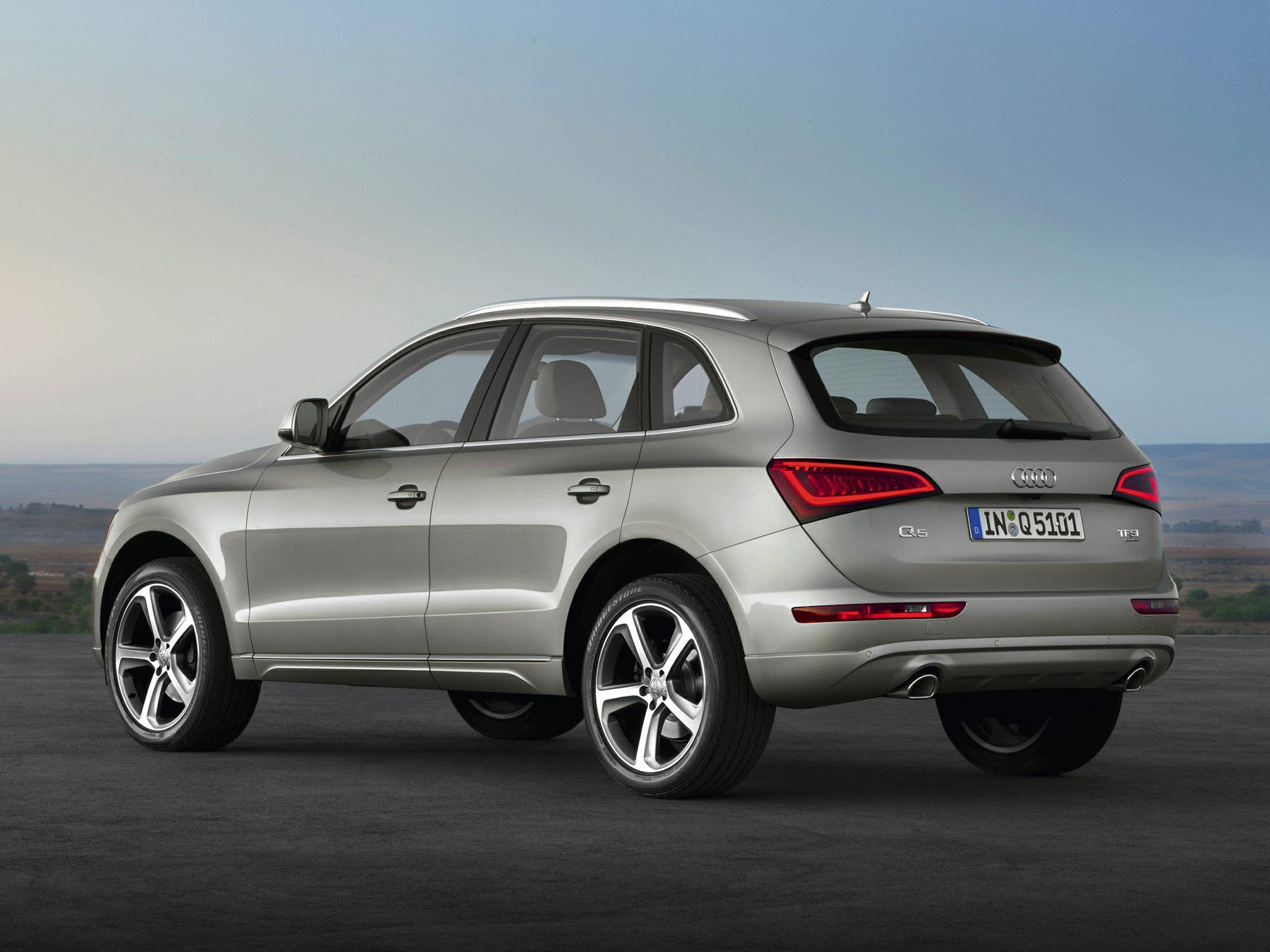 2015 Audi Q5 Rear
