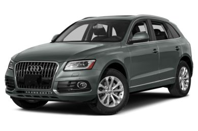3/4 Front Glamour 2013 Audi Q5