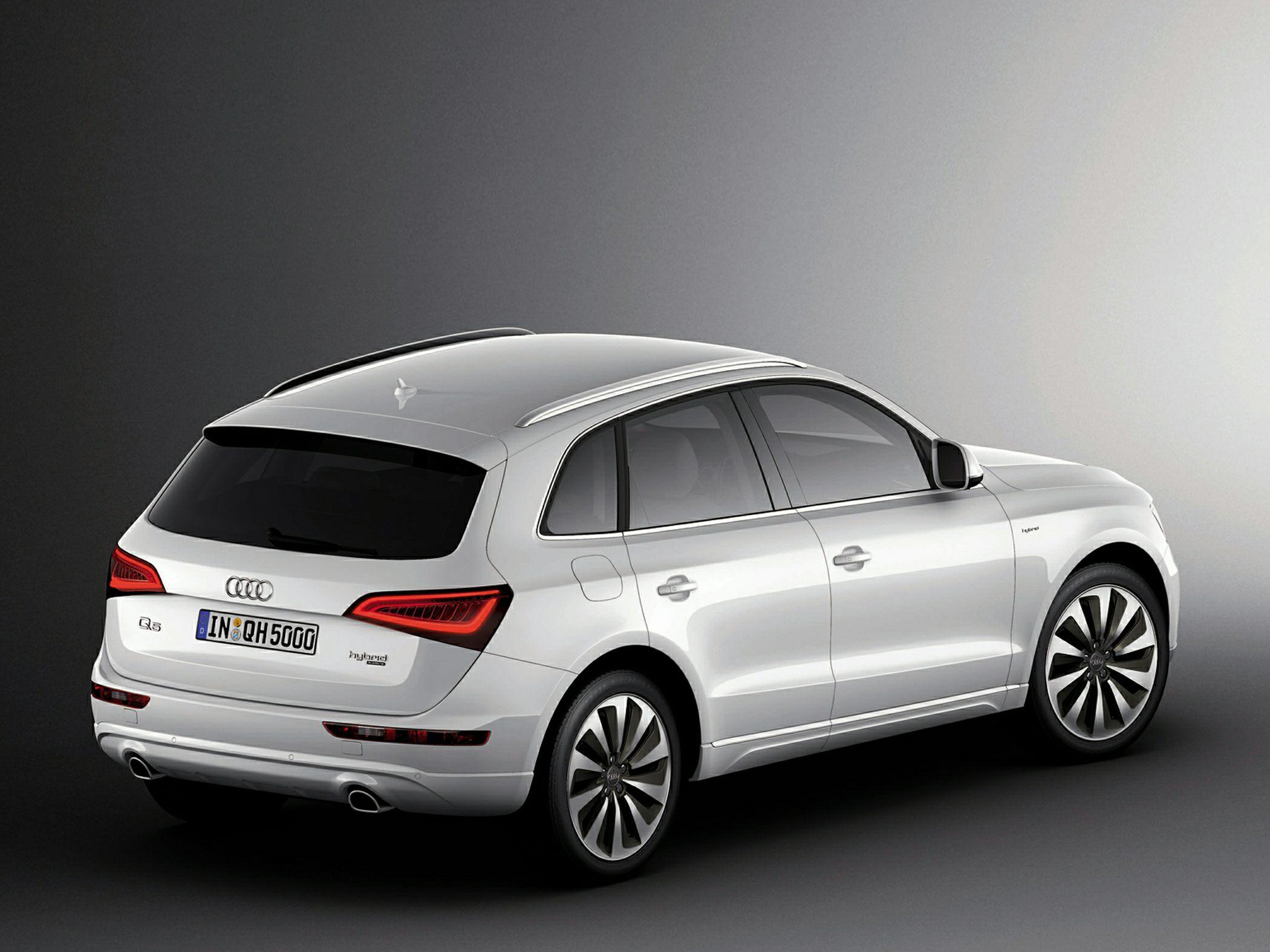 2015 Audi Q5 Hybrid Rear