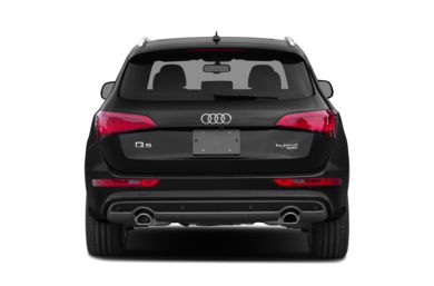 Rear Profile  2013 Audi Q5 hybrid