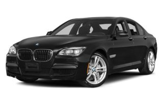 3/4 Front Glamour 2014 BMW 750