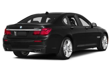 3/4 Rear Glamour  2014 BMW 750