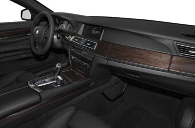 Interior Profile 2013 BMW 750