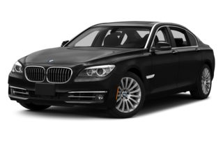 3/4 Front Glamour 2013 BMW 740