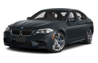 3/4 Front Glamour 2013 BMW M5